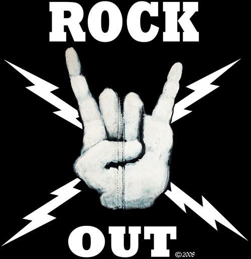Rock out to save the world!